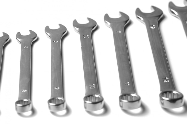Viele schraubenschlüssel