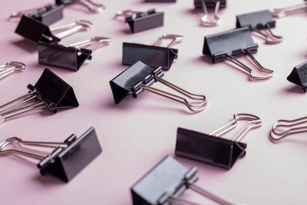 Viele schwarze clips