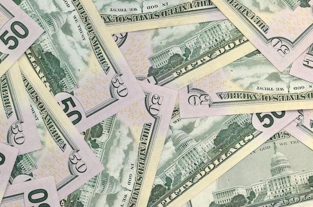 Viele us-dollar-scheine