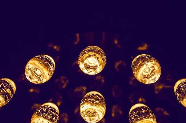 Viele verschiedene vintage glühlampen