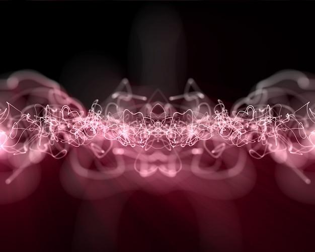 Vielfache rosa blitzlinien