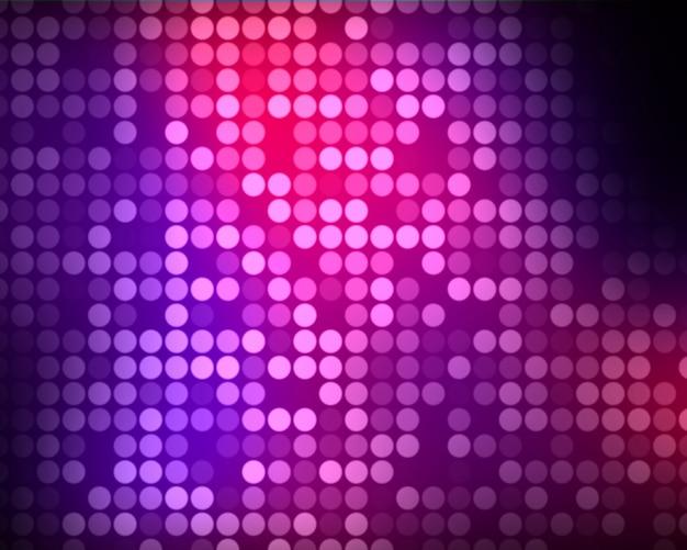 Vielfache rosa und lila punkte