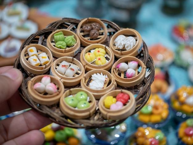 Vielzahl der miniaturlehmnahrung