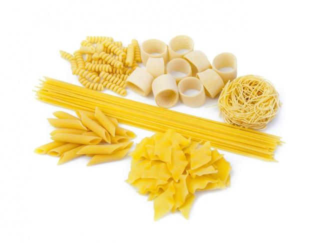 Vielzahl von italienischen pasta