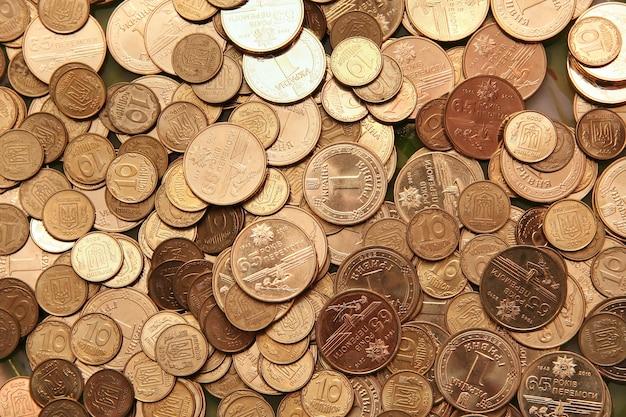 Vielzahl von münzen
