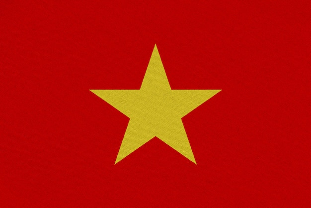 Vietnam stofffahne