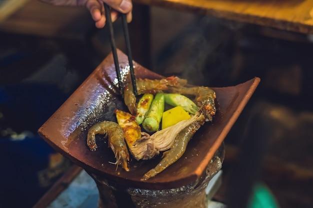 Vietnamesischer grill