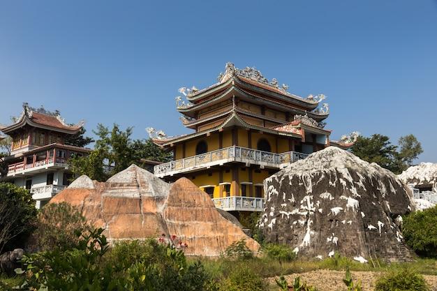 Vietnamesischer tempel, lumbini, nepal