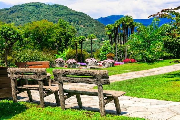 Villa taranto mit wunderschönem botanischen garten und park