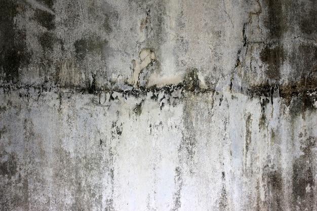 Vintage alte betonwand mit flecken und schmutz, texturhintergrund