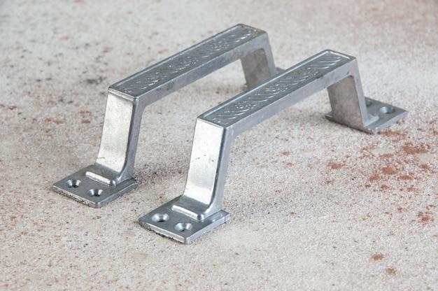 Vintage aluminium türgriffe