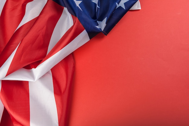 Vintage amerikanische flagge