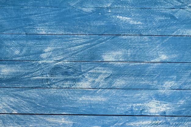 Vintage blaue holzhintergrundbeschaffenheit.