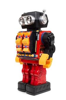 Vintage blechroboter spielzeug