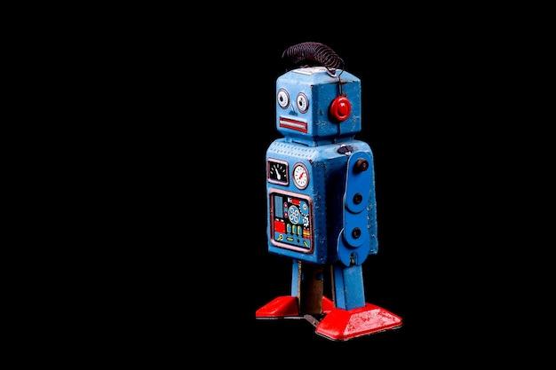 Vintage blechspielzeugroboter