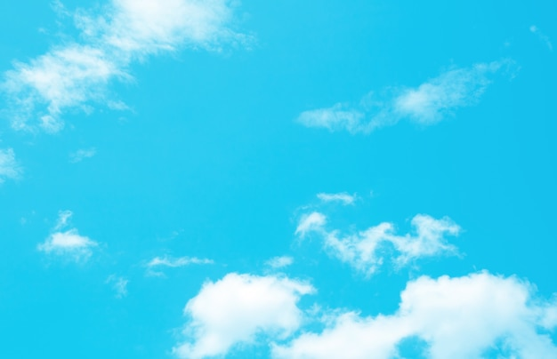 Vintage dynamische wolken- und himmelbeschaffenheit