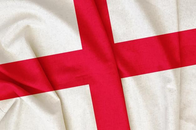 Vintage england flagge