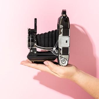 Vintage fotokamerakomposition