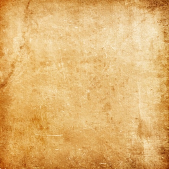 Vintage grunge-textur aus altem braunem papier als grunge-hintergrund