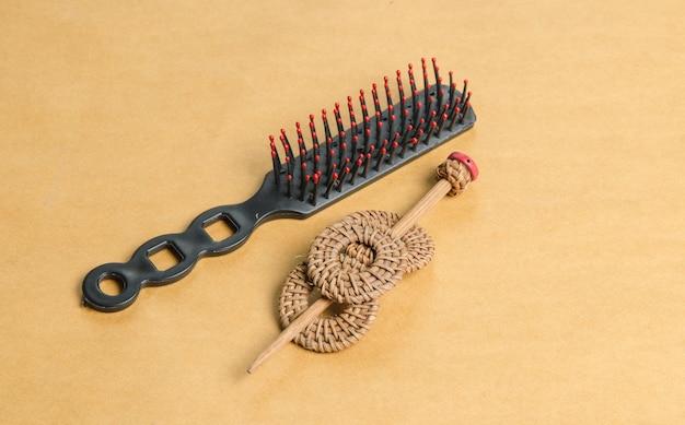 Vintage haarnadel, holz haarspange