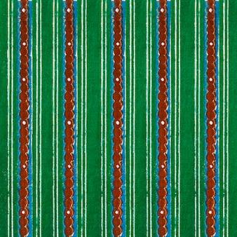 Vintage Holzschnitt aus japanischem Textil von Shima-Shima (1904) von Furuya Korin. Digital Enhan