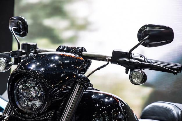 Vintage klassische motorradscheinwerfer