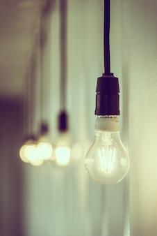 Vintage-lichtlampe