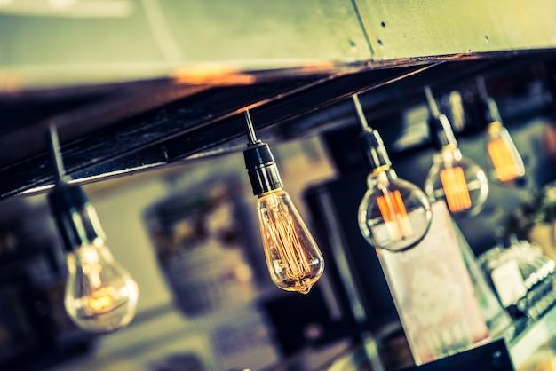 Vintage lichtlampe