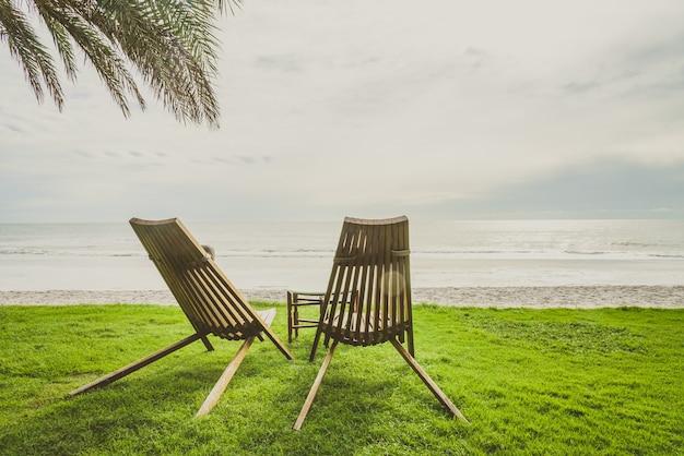 Vintage luxushotel palme sommer