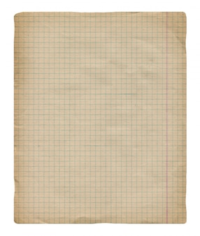 Vintage millimeterpapier hintergrund