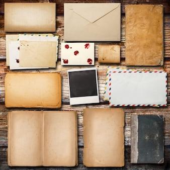 Vintage papier für die korrespondenz