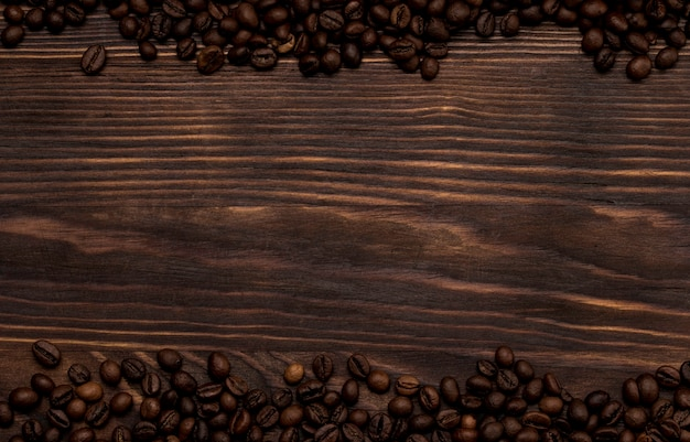 Vintage rustikale grenze des kaffees