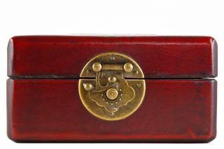 Vintage-schmuck-box alten