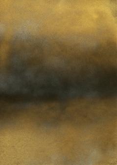 Vintage schwarz-goldene geräuschstruktur. abstrakter bespritzter hintergrund für vignette.