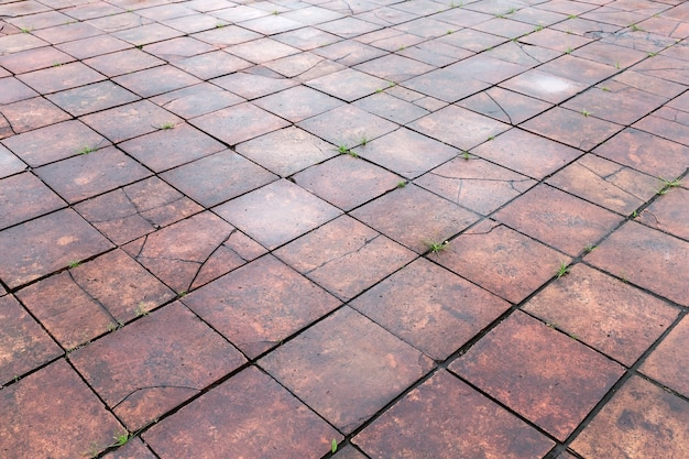 Vintage steinstraßenpflaster textur