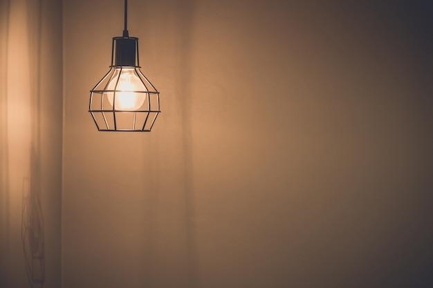 Vintage-stil von lichtbirnen