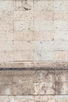 Vintage ziegelsteine der städtischen gebäudewände