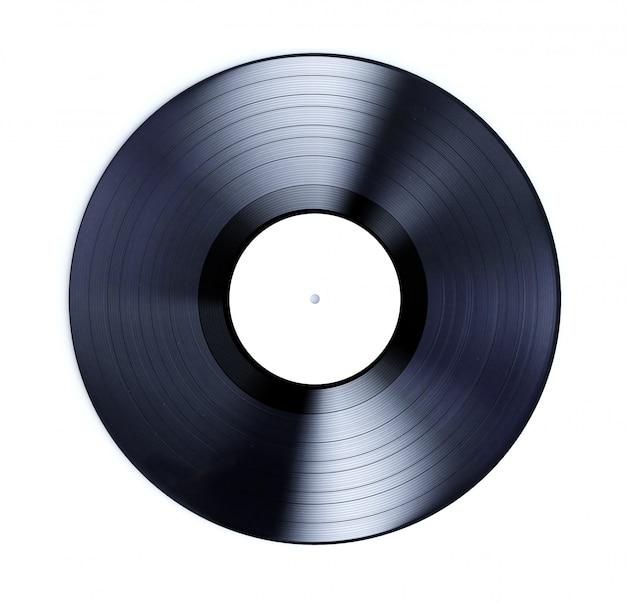 Vinyl-schallplatte isoliert