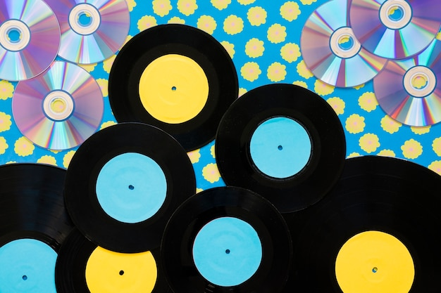 Vinyls und cds