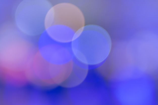 Violetter ton von großem kreis bokeh für hintergrund.