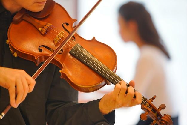 Violine spielen