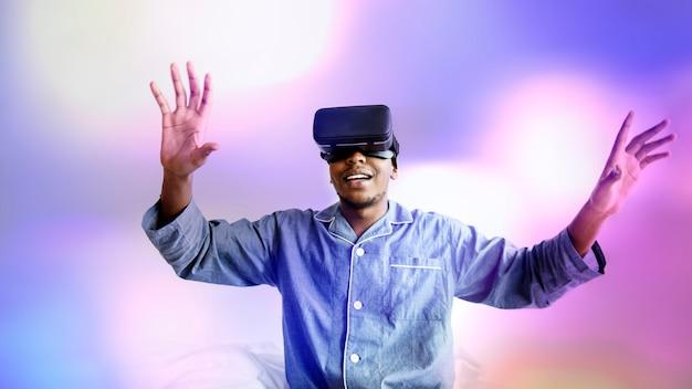 Virtual-reality-unterhaltung