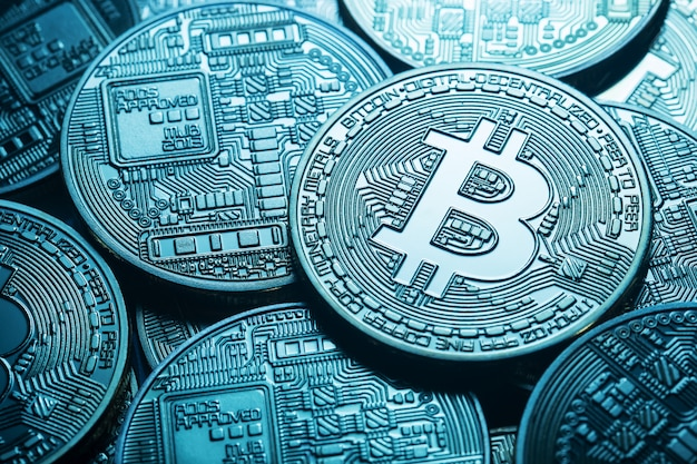 Virtuelle bitcoin-währung
