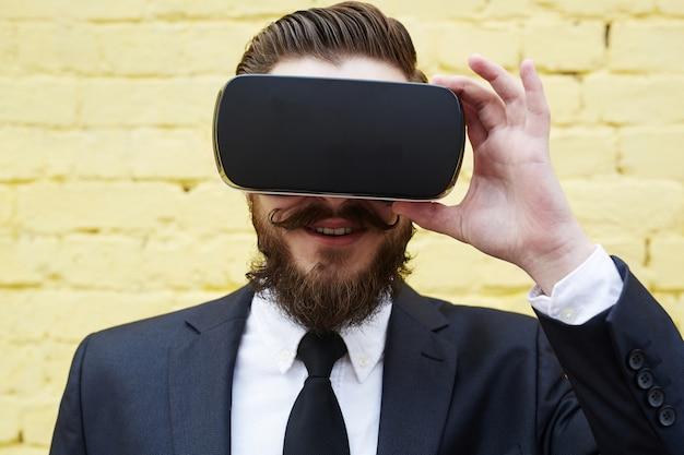 Virtuelle erfahrung