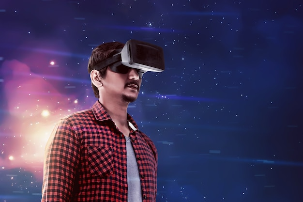 Virtuelle realität konzeptionelle bilder