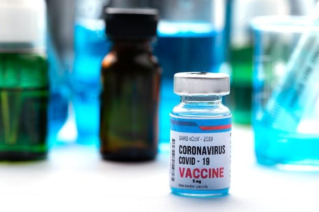 Virusimpfstoffentwicklung eines coronavirus covid-19