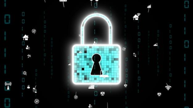 Visionäre verschlüsselungstechnologie für cybersicherheit zum schutz der privatsphäre