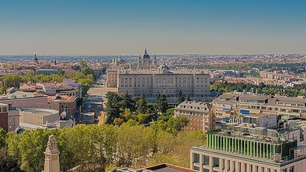 Vista del palacio echte landschaft