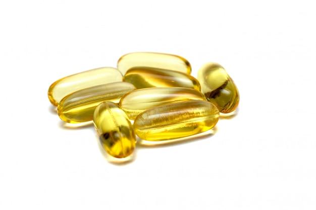 Vitamin e omega 3 fischöl gelbe pillen vitamine