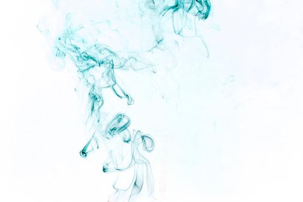Vivid blauer rauch